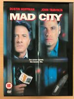 Pazzo City DVD 1997 Hostage Assedio Thriller W/Dustin Hoffman e John Travolta