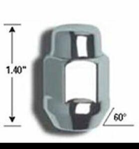 "Gorilla Lug Nuts Kit 12-1.50 Thread, 13/16"" (21mm) Chrome 91137"