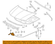 Acura HONDA OEM 03-06 MDX Hood-Lock Latch 74120S3VA11