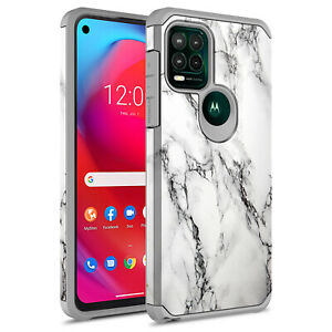 For Moto G Stylus 5G 2021 Hybrid Graphic Colorful Armor Case