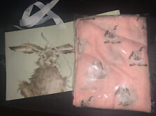Wrendale 'Some Bunny' Scarf And Giftbag, New With Tags.