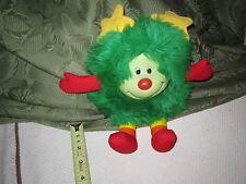 Vintage Hallmark 1983 Rainbow Brite Plush Sprite Friend cute toy Lucky Green
