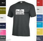 Beer Love T-shirt Periodic Table of Elements shirt Geek Nerd Cool SZ S-5XL