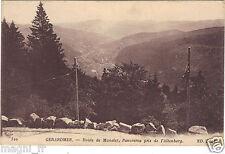 88 - cpa - GERARDMER - Route de Munster - Panorama pris de l'Altenberg