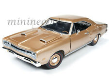 AUTOWORLD AMM1024 1969 69 DODGE CORONET R/T 50th ANNIVERSARY 1/18 LIGHT BRONZE