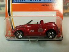 "Matchbox Hero City #72 Car Shop Chrysler PT Cruiser Red 2003 ""Hero City Logo"""
