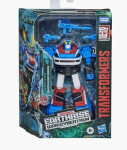 Transformers War For Cybertron Earthrise Deluxe Smokescreen - New dented box