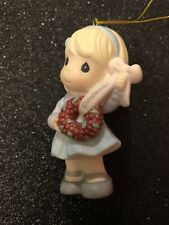 precious moments ornaments You're The Best Grandmother Around 910032 Mib