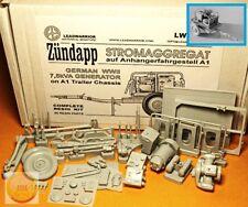 "1/35. 7,5 kVA Stromaggregat auf Anhangerfahrgestell A, by ""Leadwarrior"" LW 35217"
