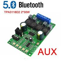 Bluetooth 5.0 Audio Receiver Amplifier TPA3118D2 30W+30W Stereo Verstärker Board
