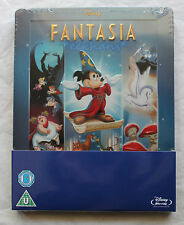 NEW Disney's Fantasia Blu-Ray Steelbook Zavvi Region Free U.K. Import