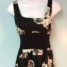 Mystic Dress Black Floral Juniors M