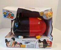Disney TSUM TSUM Mickey Stack n Display Set Case w/ Exclusive Figure box damaged