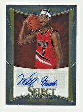 Will Barton Trail Blazers 2012-13 Select Basketball Auto Rookie Card 398/449