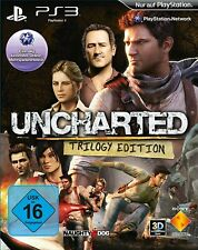 PS3 / Sony Playstation 3 Spiel - Uncharted #Trilogy Edition DE NEU & OVP