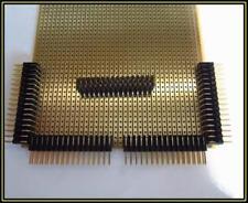 Stiftleisten vergoldet  90° gewinkelt 32 Polig 2 Reihig 5 Stück
