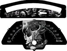Suzuki M109R Custom Speedo & Tach  2006-2011  (MP/H or KM/H)  Skull