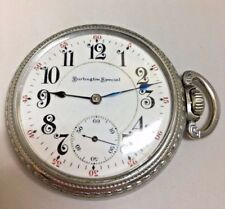 Burlington Special Pocket watch Vintage 1908