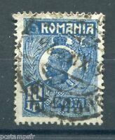 ROUMANIE - ROMANIA, 1919, timbre CLASSIQUE 300, FERDINAND 1°, oblitéré, VF STAMP