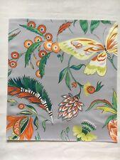 Matthew Williamson Fabric Sample / Remnant HABANERA Ivory/Stone/Neon Yellow/Jade