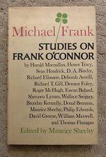 Michael/Frank Studies on Frank O'Connor by Sheehy Stegner Greene Flanagan