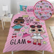 LOL Surprise Single Panel Duvet Cover Bedding Set