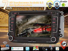 "Für VW Golf Passat Polo Tiguan Navi Autoradio Android 8.0 GPS 7"" HD DAB+ 4GB RAM"