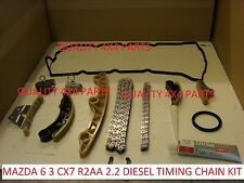 Mazda 3 6 ENGINE CX7 MZR-CD R2AA 2.2 DIESEL TIMING CHAIN GUIDE KIT