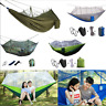 Outdoor Camping Portable Mosquito Net Nylon Hammock Hanging Bed Sleeping Swing