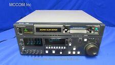 Panasonic AJ-D940 DVCPRO 50 Player w/ 2218 tape hrs