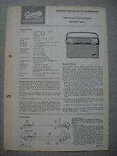 ITT/GRAETZ Pagino 1333 L Service Manual