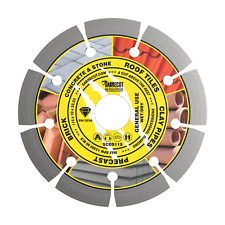 SabreCut 115mm Diamond Cutting Disc Blade for Bosch DeWalt Makita Grinder