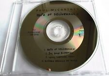 "PAUL McCARTNEY - U.K. PROMO 4 TRACKS SAMPLER CD ""HOPE OF DELIVERANCE"" - LIKE NEW"