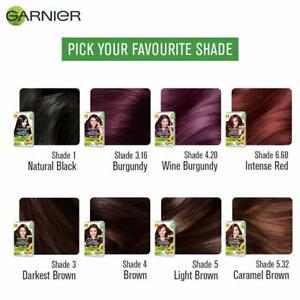 Garnier Color Naturals Crème hair color, All Shade 70ml + 60g