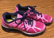 Nike 488124-501 Air Max 2012 Youth Kid's Purple Pink Athletic Running Shoes 7Y