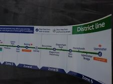 More details for genuine full length district line carriage diagram,part number 28124/143 04.2017