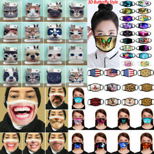 3D Print Funny FaceMask Protective Covering Washable Reusable Face Mask