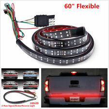 "60"" Trunk Tailgate Red White LED Light Bar For Reverse Brake Turn Signal Tail ic"