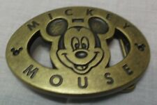 Disney Mickey Mouse Belt Buckle Brand New