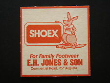SHOEX FOR FAMILY FOOTWEAR E.H. JONES & SON COMMERCIAL RD PORT AUGUSTA COASTER
