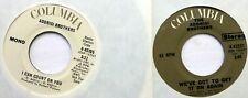 ADDRISI lot of 2x45rpm singles on Columbia soft rock d2108