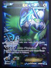 Carte Pokemon BOREAS 114/116 Ex Full Art Noir & Blanc FR NEUF