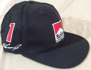 Vntg Embroidered Marlboro Team Penske 1 Unser Jr. 2 Fittapaldi Snapback Hat NEW