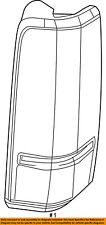 Dodge CHRYSLER OEM 07-11 Nitro-Taillight Tail Light Lamp Right 55157150AG