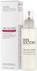Skin Doctors Hair No More Inhibitor Spray, painless hair removal, after shaving,