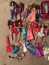 New ListingHuge Barbie Doll Lot Clothes Accessories Disney 29 Dolls