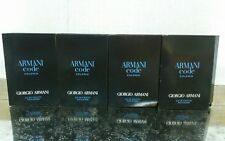 4x Giorgio Armani ARMANI CODE COLONIA EDT Spray Samples 0.04oz / 1.2ml Each