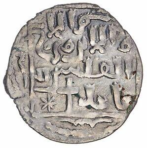 Islamic Ilkhans Arghun 1284-1291 AR Dirham Tiflis Christian Formula Diler Ar-223