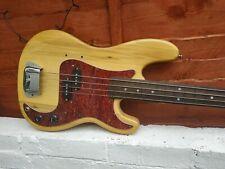 TRADES WELCOME Custom Built Fretless Vintage Electric Bass Guitar