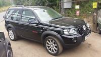 2004 Land Rover Freelander 2.5 V6 auto Sport STARTS+DRIVES SPARES OR REPAIRS